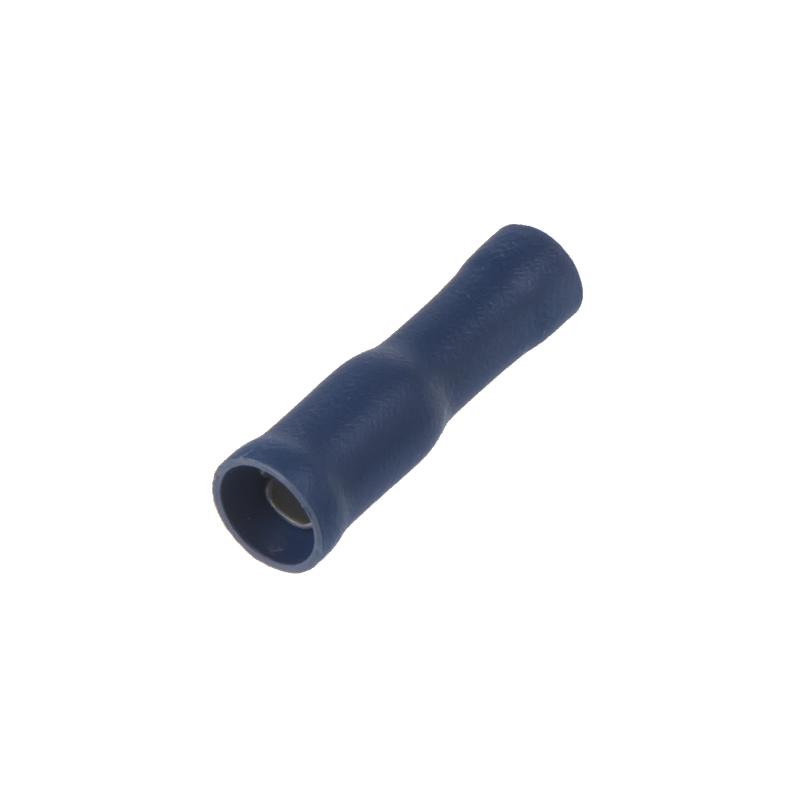Objímka kruhová 4,0 mm modrá, 100 ks