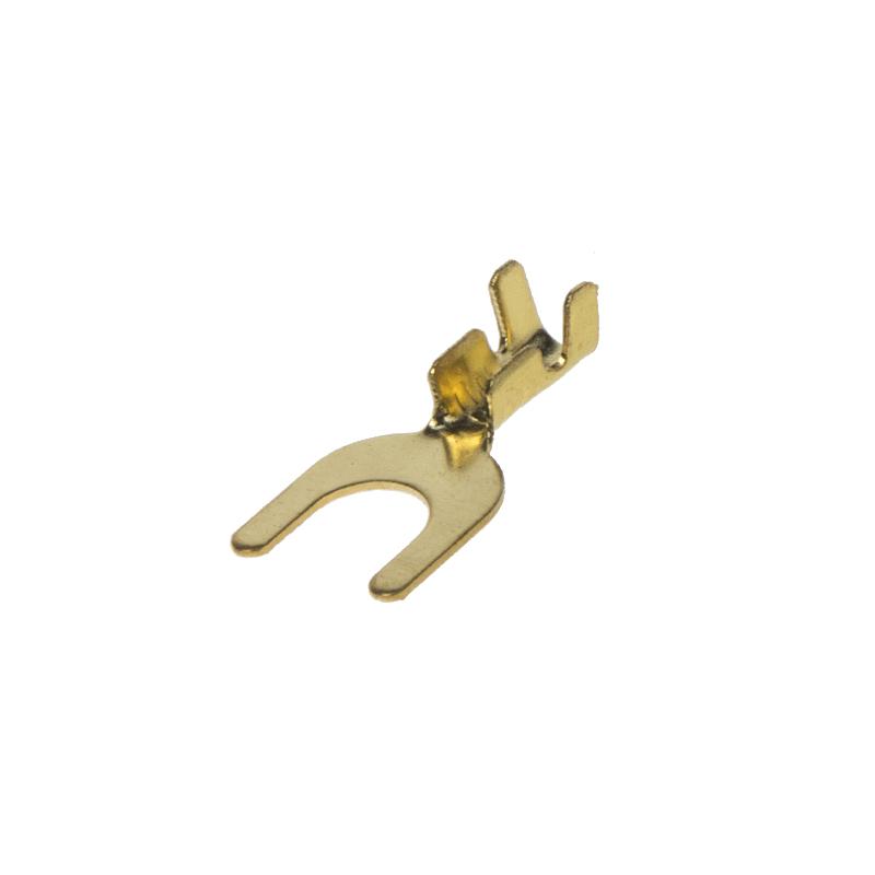 Kabelová vidlička neizol M6, 100 ks