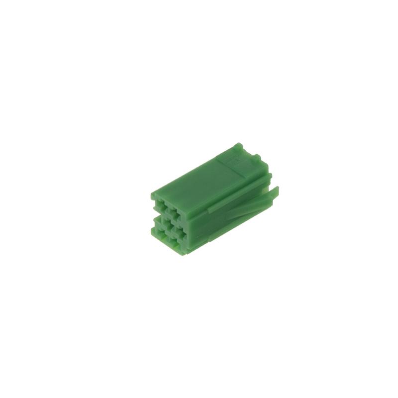 Konektor MINI ISO 6-pin bez kabelů - zelený