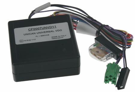 UNI adaptér CAN-Bus/ovládání VDO + rychl., 15, osv., zpát.