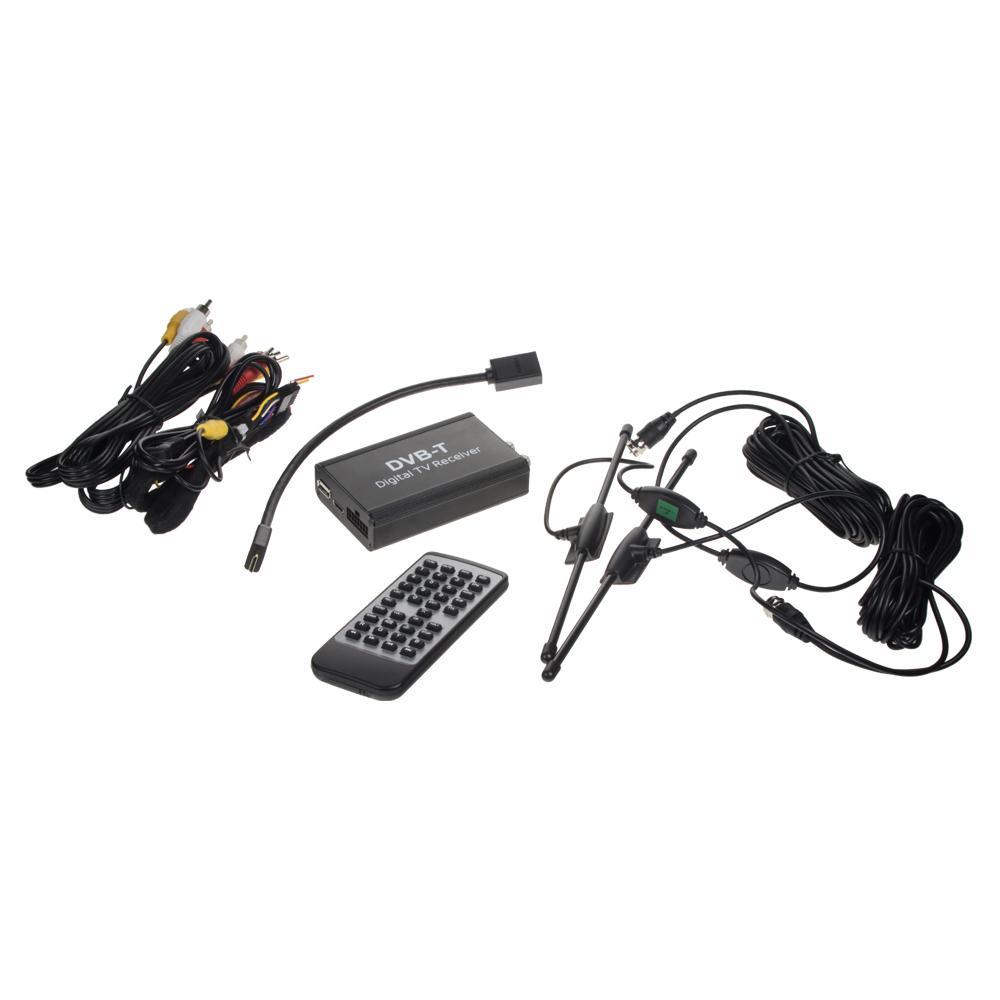 DVB-T2/HEVC/H.265 digitální tuner + 2x anténa