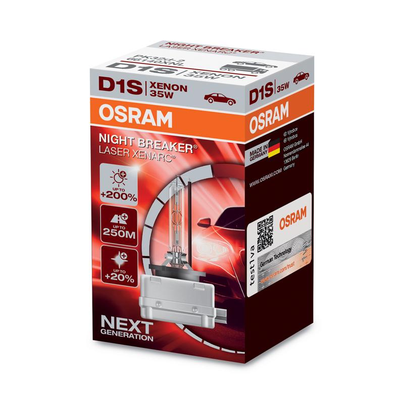 OSRAM D1S 12/24V 35 PK32d-2 NBR LASER (1ks)