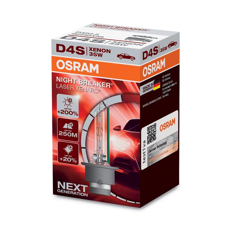 x OSRAM D4S 12/24V 35 P32d-5 NBR LASER (1ks)
