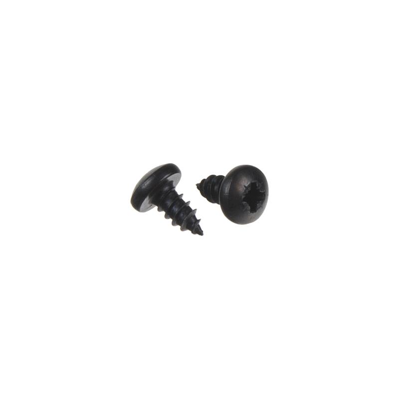 Montážní šroub černý 4,8x9,5mm, 100 ks