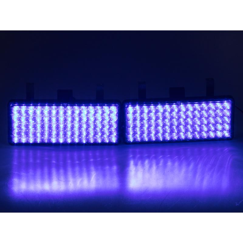 x PREDATOR LED vnější, 12V, modrý