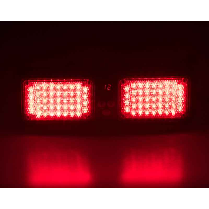 PREDATOR dual LED vnitřní, 12V, červený, 320mm