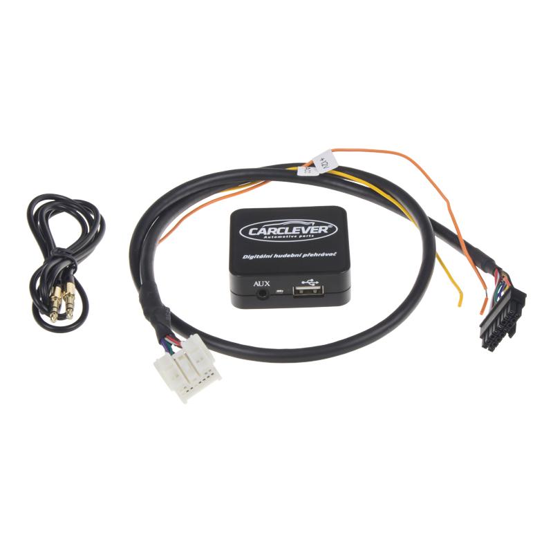 Hudební přehrávač USB/AUX Nissan