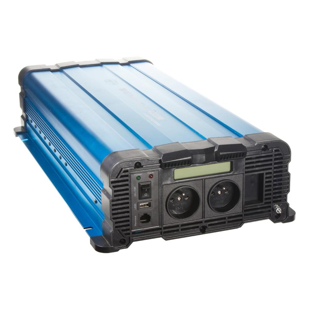 Sinusový měnič napětí z 12/230V, 4000W / displej
