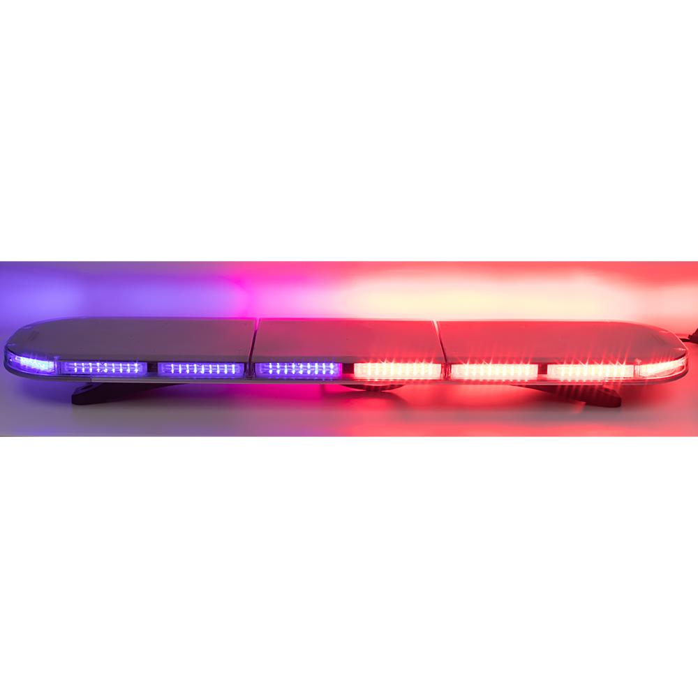 LED rampa 1172mm, modro-červená, 12-24V, 144 x 5W, ECE R65