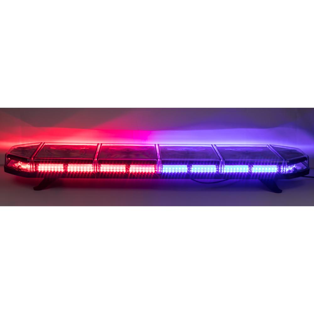 LED rampa 1149mm, modro-červená, 12-24V, homologace ECE R65
