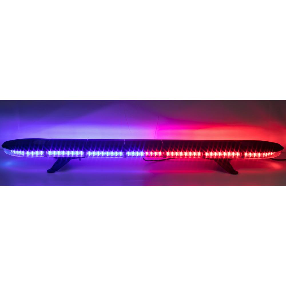 LED rampa 1181mm, modro-červená, 12-24V, homologace ECE R65