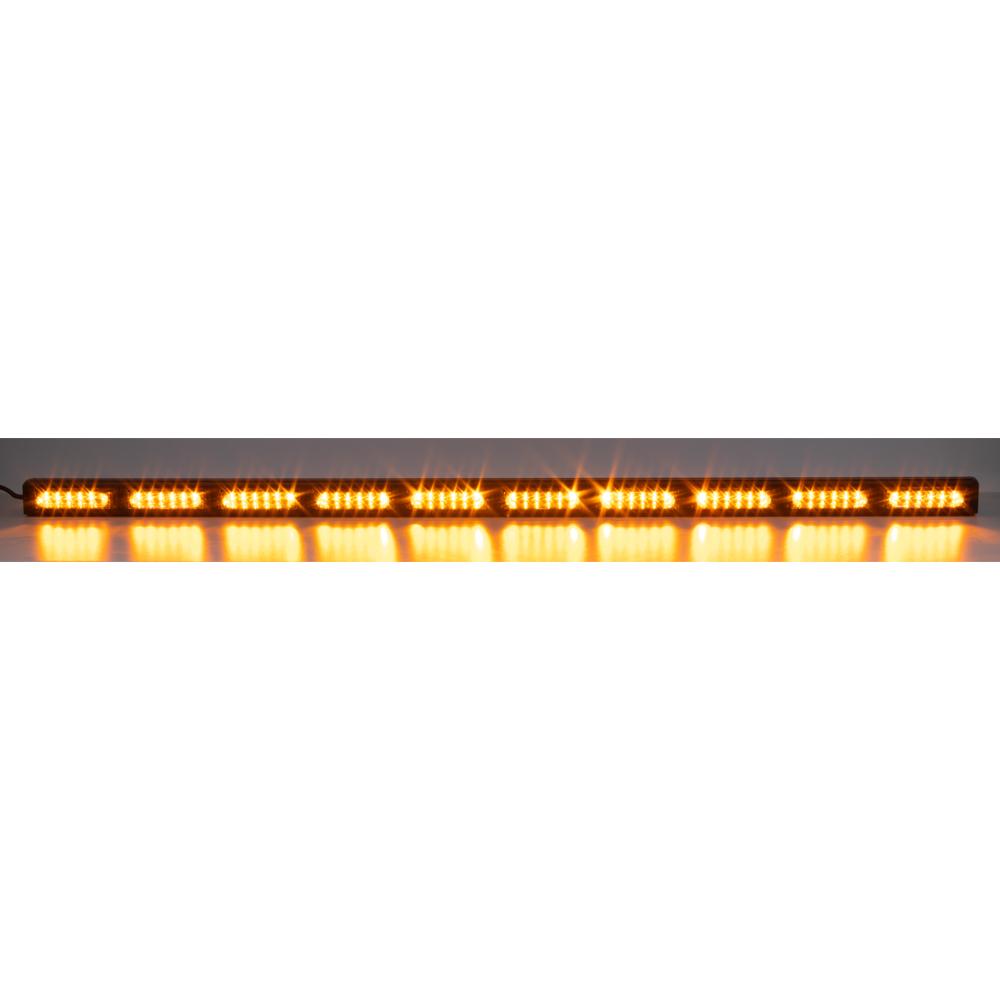 LED alej voděodolná (IP67) 12-24V, 60x LED 3W, oranžová 1200mm
