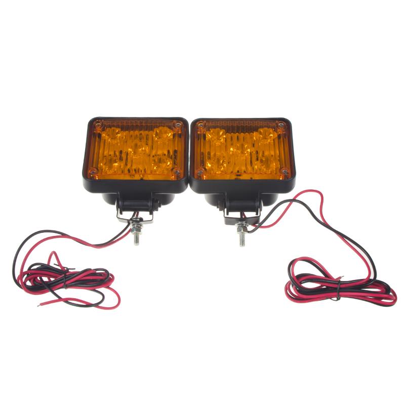 x PREDATOR LED vnitřní, 12V, 10x LED 1W, oranžový