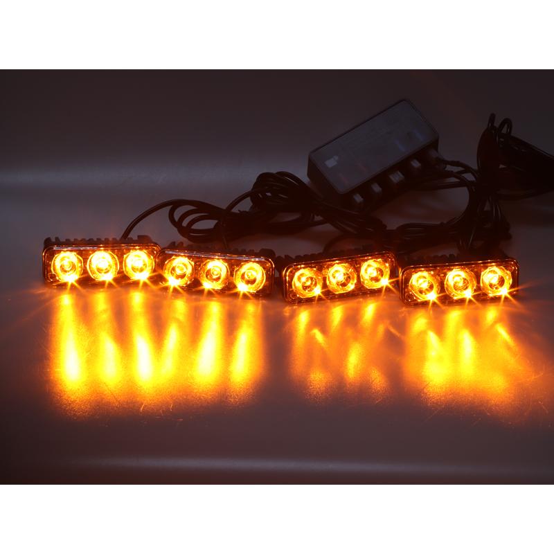 PREDATOR LED vnější, 12x LED 1W, 12V, oranžový