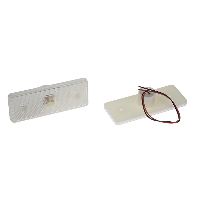 x Přední obrysové světlo LED, bílé 24V