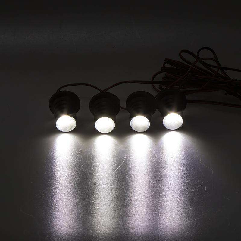 LED stroboskop bílý 4ks 1W