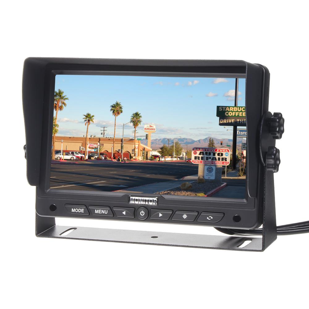"HD monitor 7"" s 1x HDMI / 2x RCA vstupy"
