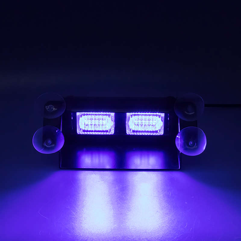 PREDATOR LED vnitřní, 6 x LED 1W, 12V, modrý