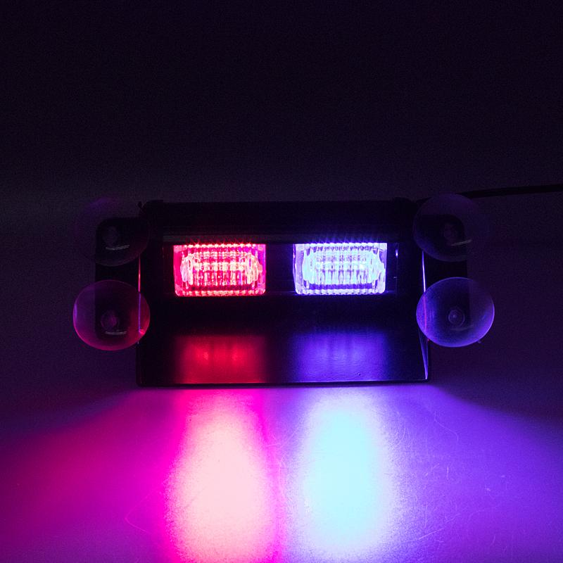 PREDATOR LED vnitřní, 6 x LED 1W, 12V, modro-červený