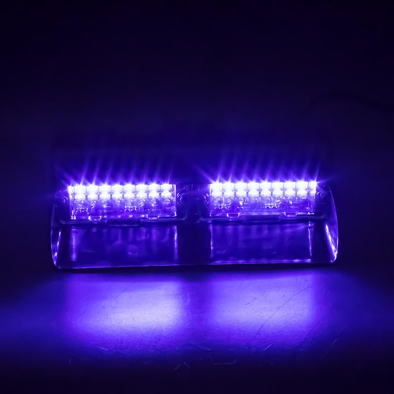 PREDATOR LED vnitřní, 16x LED 3W, 12V, modrý