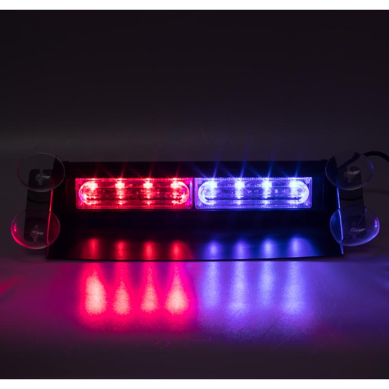 PREDATOR LED vnitřní, 8x LED 3W, 12V, modro-červený