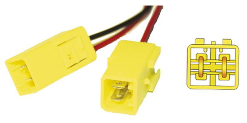 Konektor repro Fiat, Citroen, Peu. (pár)