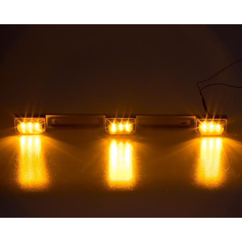 x Boční obrysové světlo LED, oranžové 24V