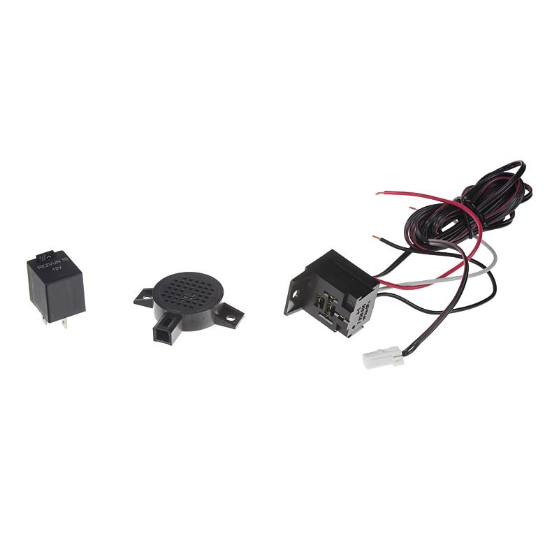 Akustická signalizace - zvuk nahraný na SD kartě
