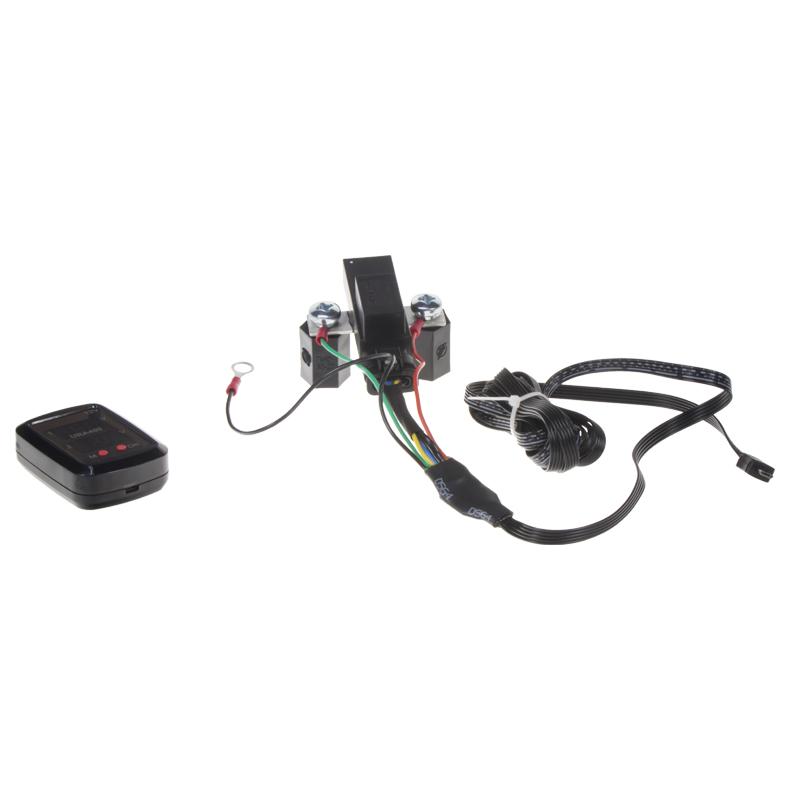 Automatické relé pro dobíjení druhé baterie 12V/250A + voltmetr