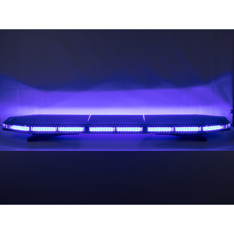LED rampa 1197mm, modrá, 12-24V, 162 x 3W, ECE R65