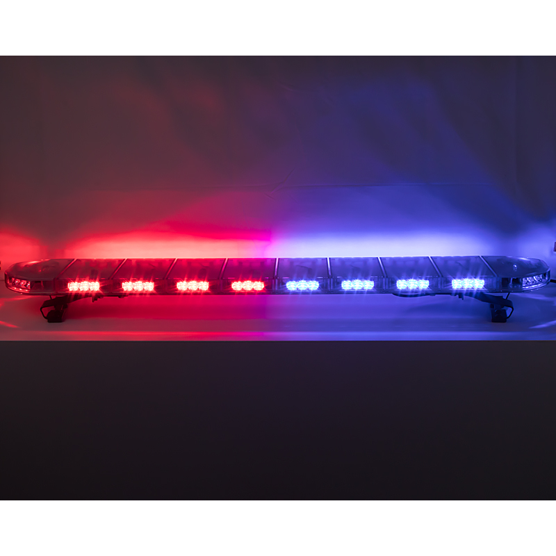 LED rampa 1200mm, modrá/červená, 12-24V, ECE R65