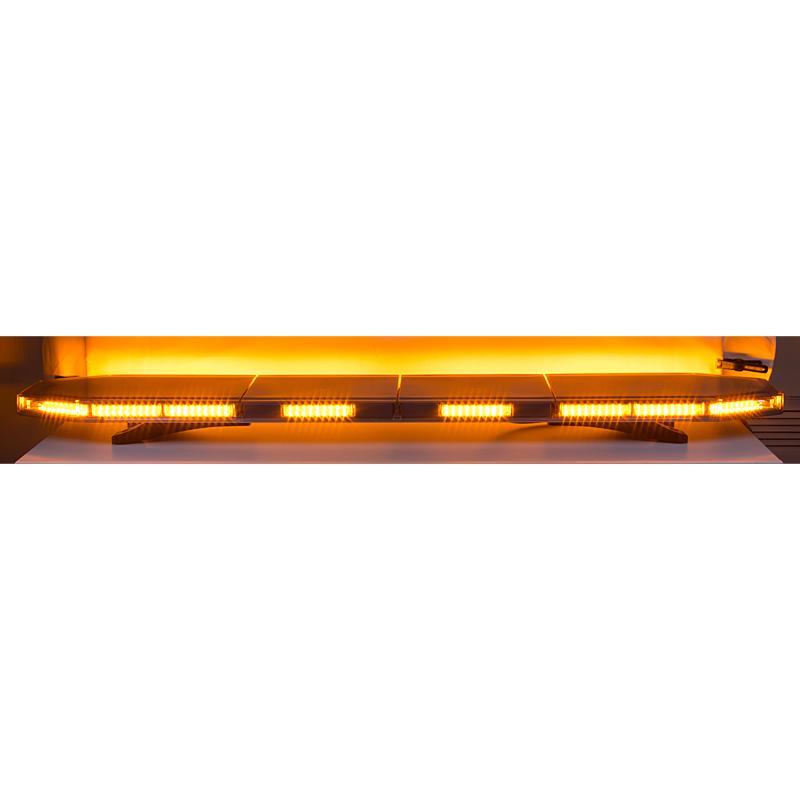 LED rampa 1496mm, oranžová, 12-24V, 162 x 1W, ECE R65