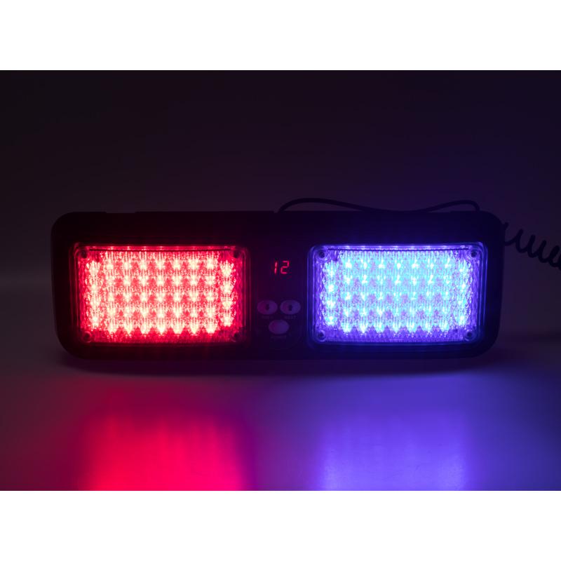 PREDATOR dual LED vnitřní, 12V, červeno-modré, 320mm