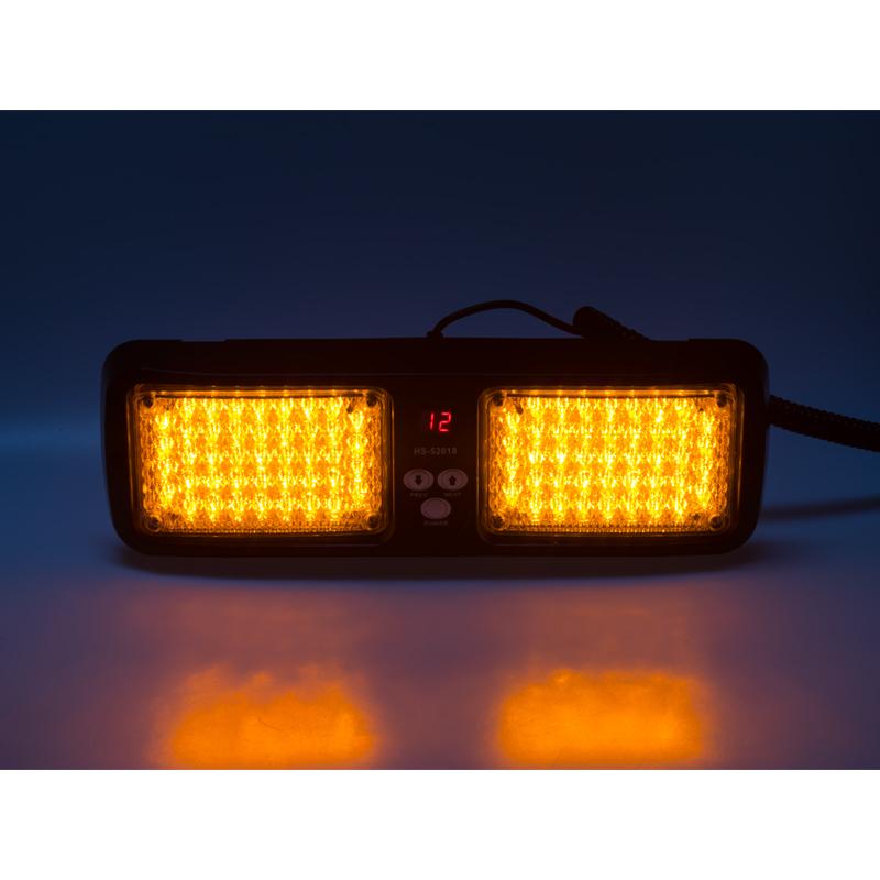 PREDATOR dual LED vnitřní, 12V, oranžový, 320mm