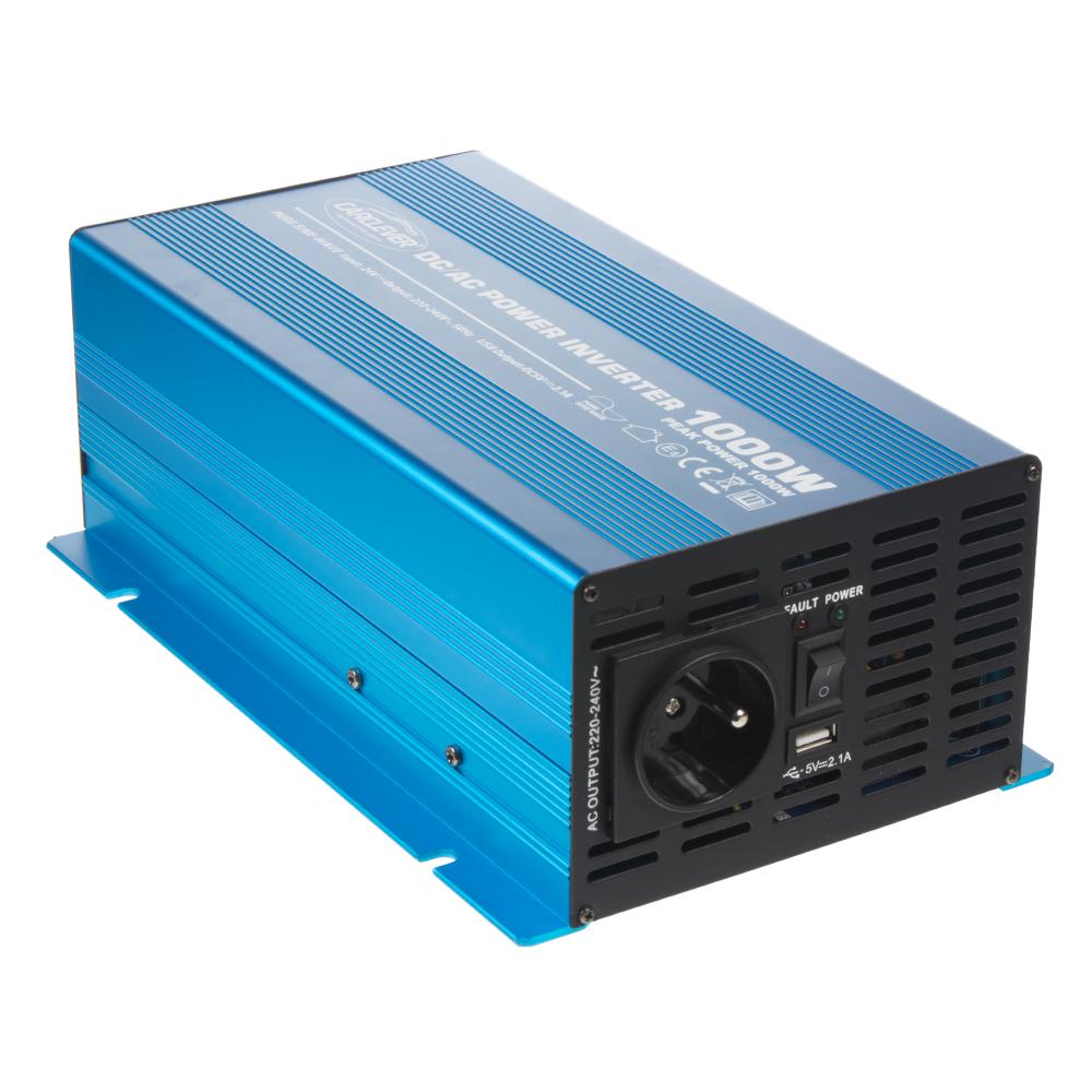 Sinusový měnič napětí z 24/230V, 1000W