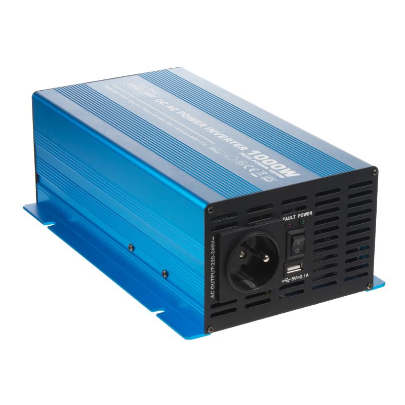 Sinusový měnič napětí z 12/230V, 1000W