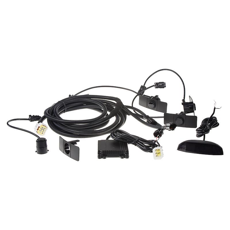 Parkovací systém bezdrátový 4 senzorový - LED displej