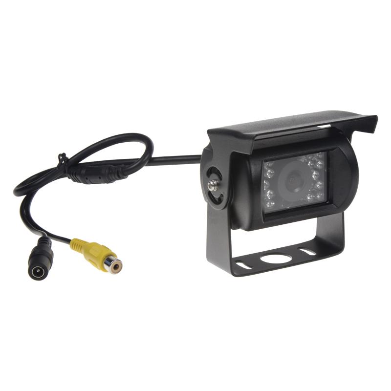 Kamera CCD s IR světlem, 12/24V, PAL