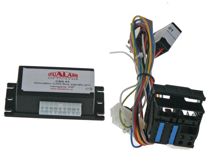 Simulátor CAN-Bus signálu pro navigace VW