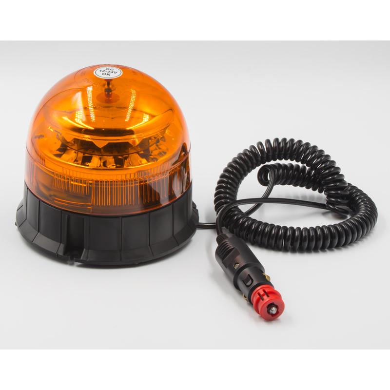 PROFI LED maják 12-24V 12x3W oranžový na magnet