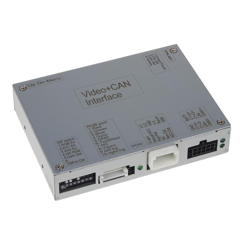 Video vstup pro Fiat / Peugeot / Citroen se systémem Uconnect 5 VP2/RA2