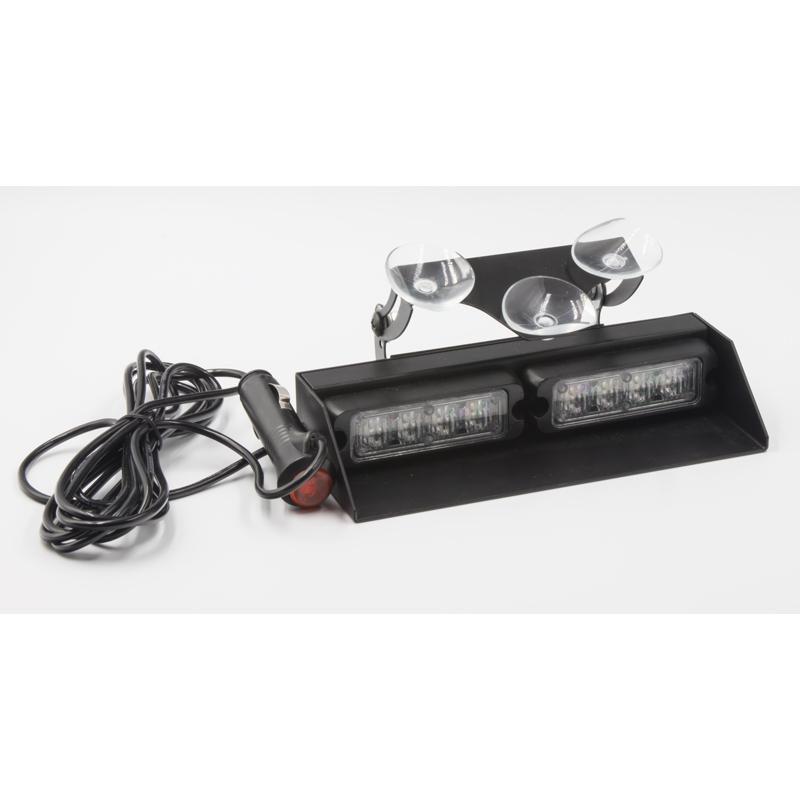 PREDATOR LED vnitřní, 8x3W, 12-24V, oranžový, 200mm