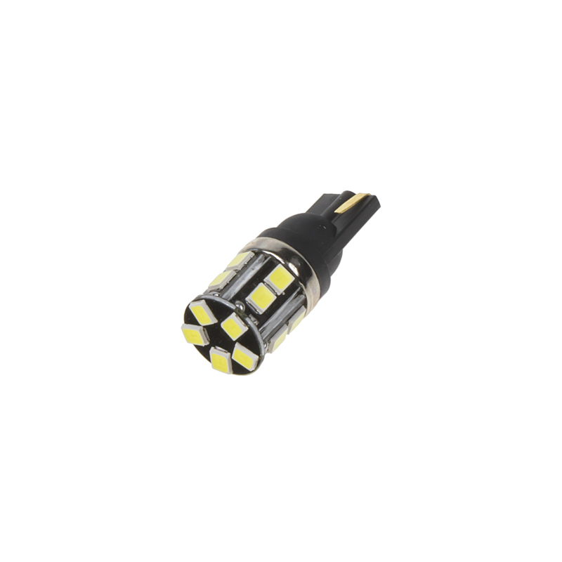 LED T10 bílá, 12/24V, 12LED/2835SMD