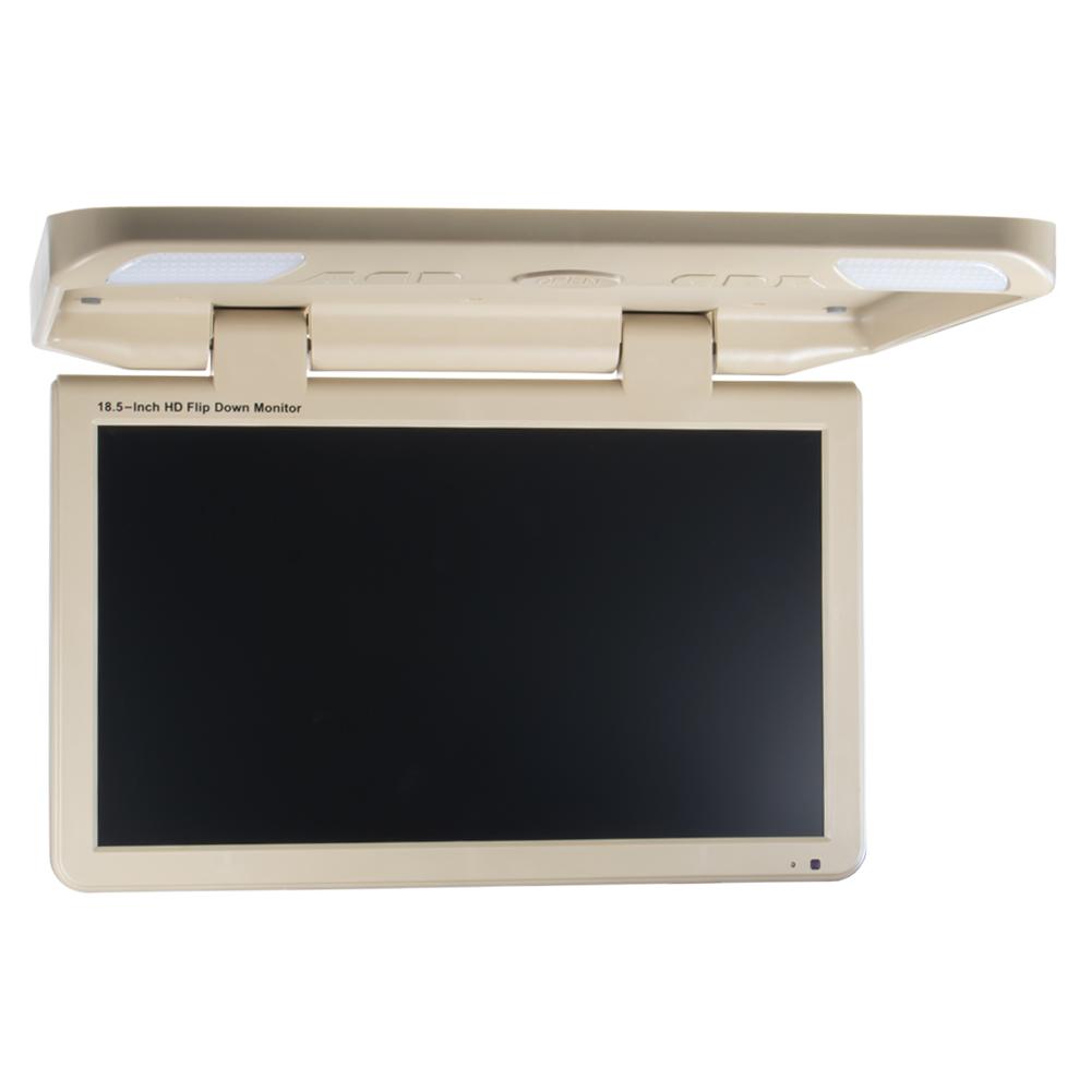 """Stropní LCD monitor 18,5"""" béžový / HDMI / 2 x RCA"""