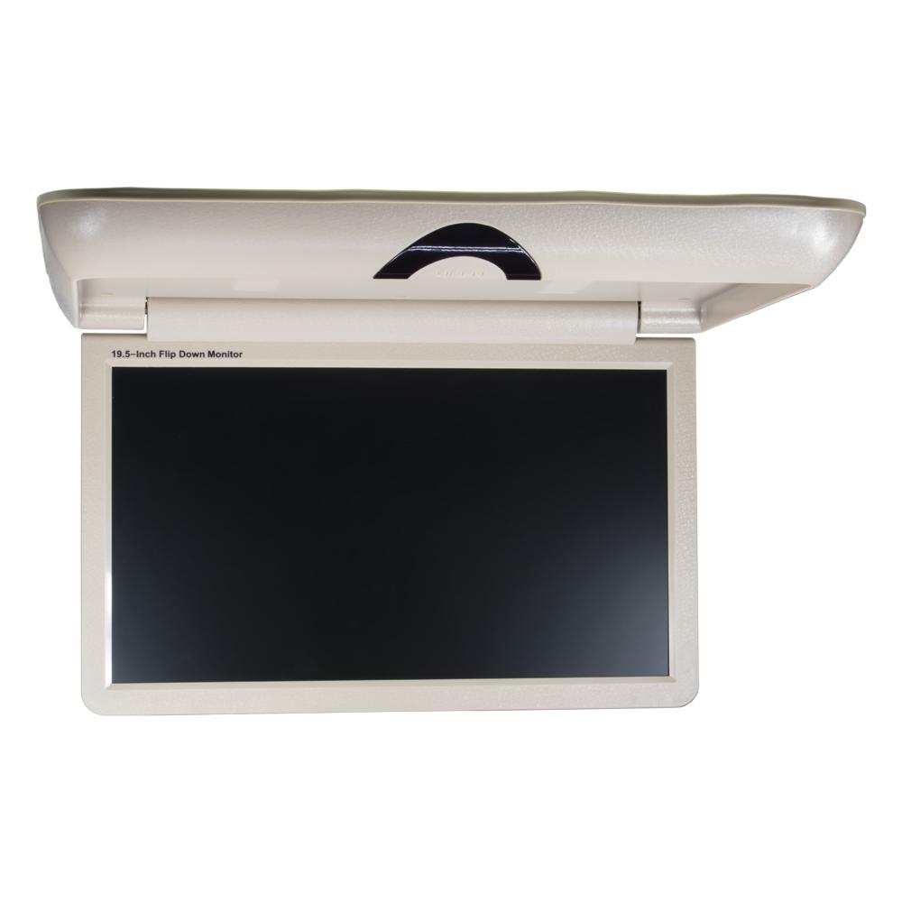 """Stropní LCD monitor 19,5"""" béžový / HDMI / 2 x RCA"""