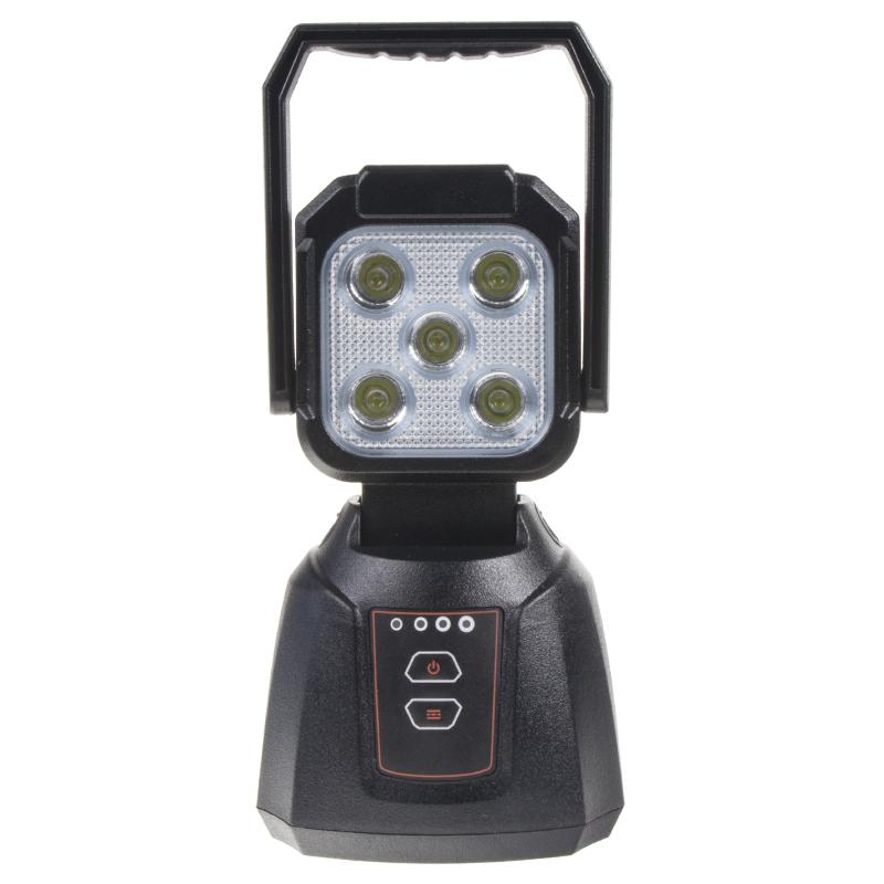 AKU pracovní LED světlo s magnetem 15W bílá/oranžová