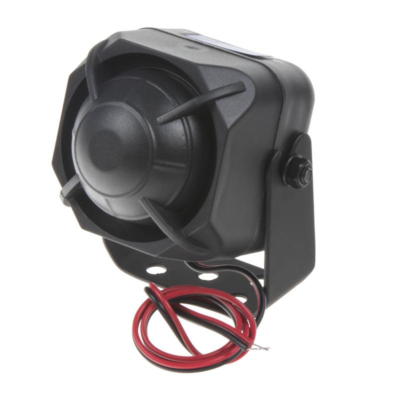 Siréna mini magnetodynamická 12V/15W, 1-tónová