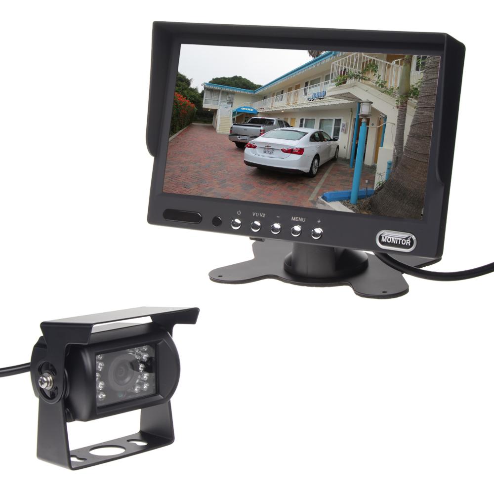 Parkovací kamera s 7