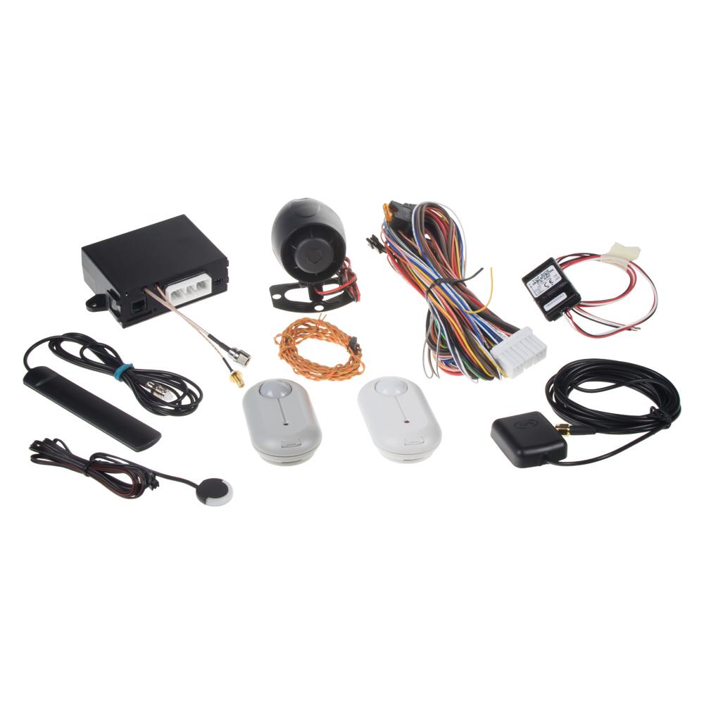 Sada GSM/GPS autoalarmu CA-2103, CA-550, JA-185P a PLV-JA85PG