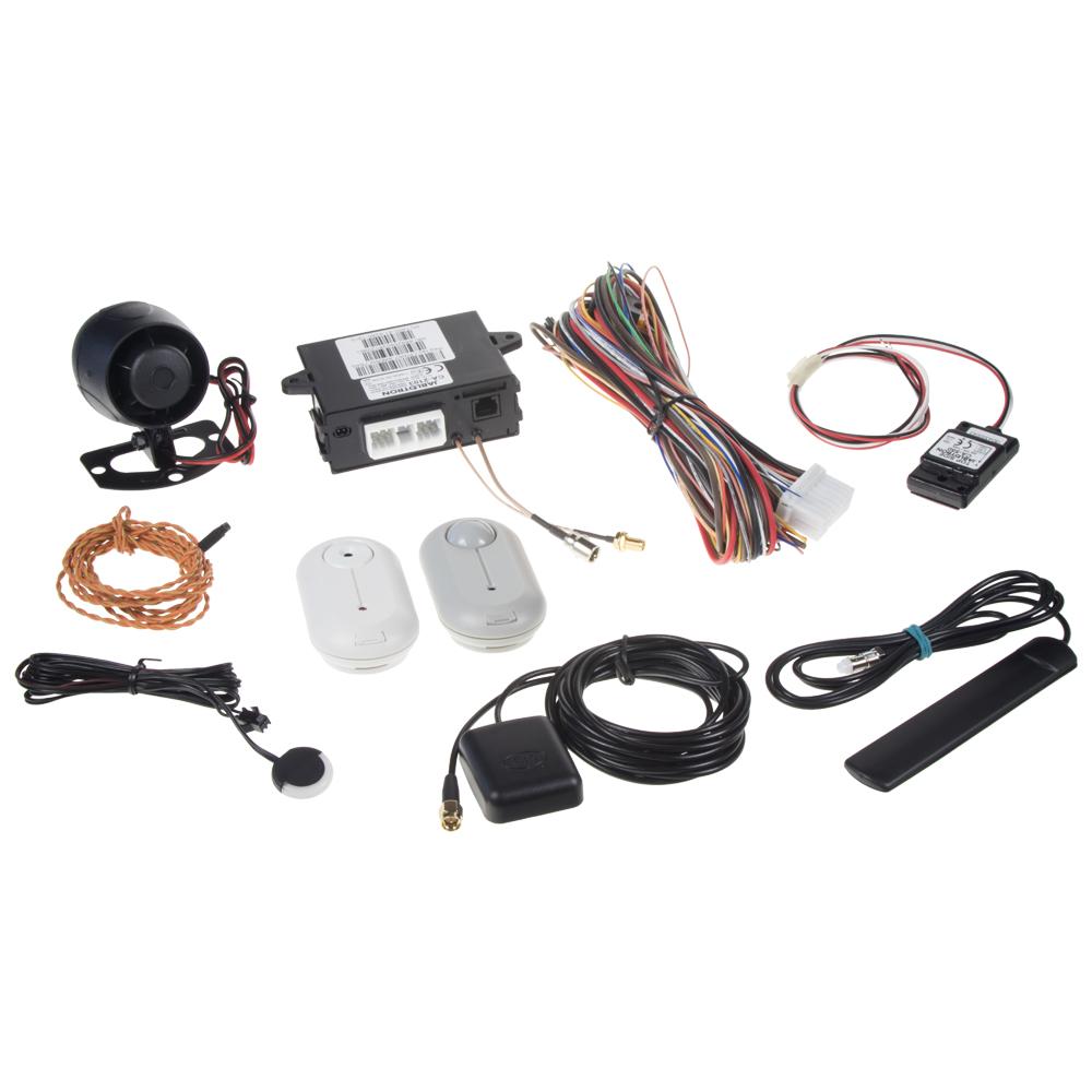 Sada GSM/GPS autoalarmu CA-2103, CA-550, JA-185B a PLV-JA85PG